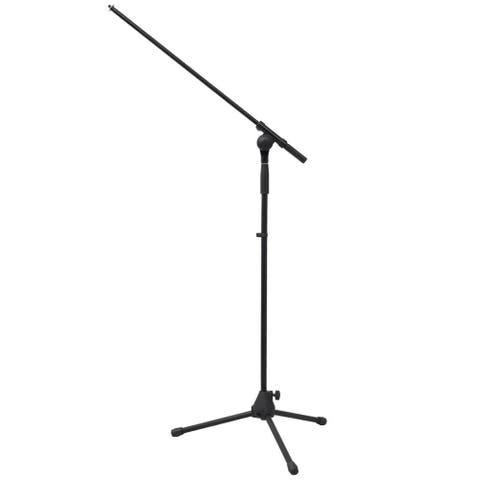 vidaXL Adjustable Microphone Stand Foldable