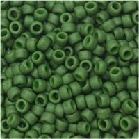 Toho Seed Beads, Round 8/0 Semi Glazed, 8 Gram Tube, Clover