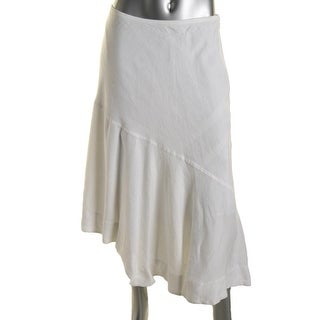Nic + Zoe Womens Linen Long Maxi Skirt - 2