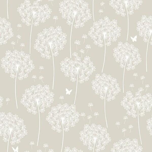 Brewster Dandelion Peel and Stick Wallpaper Kids Dandelion Wall Pops Wallpaper - N/A