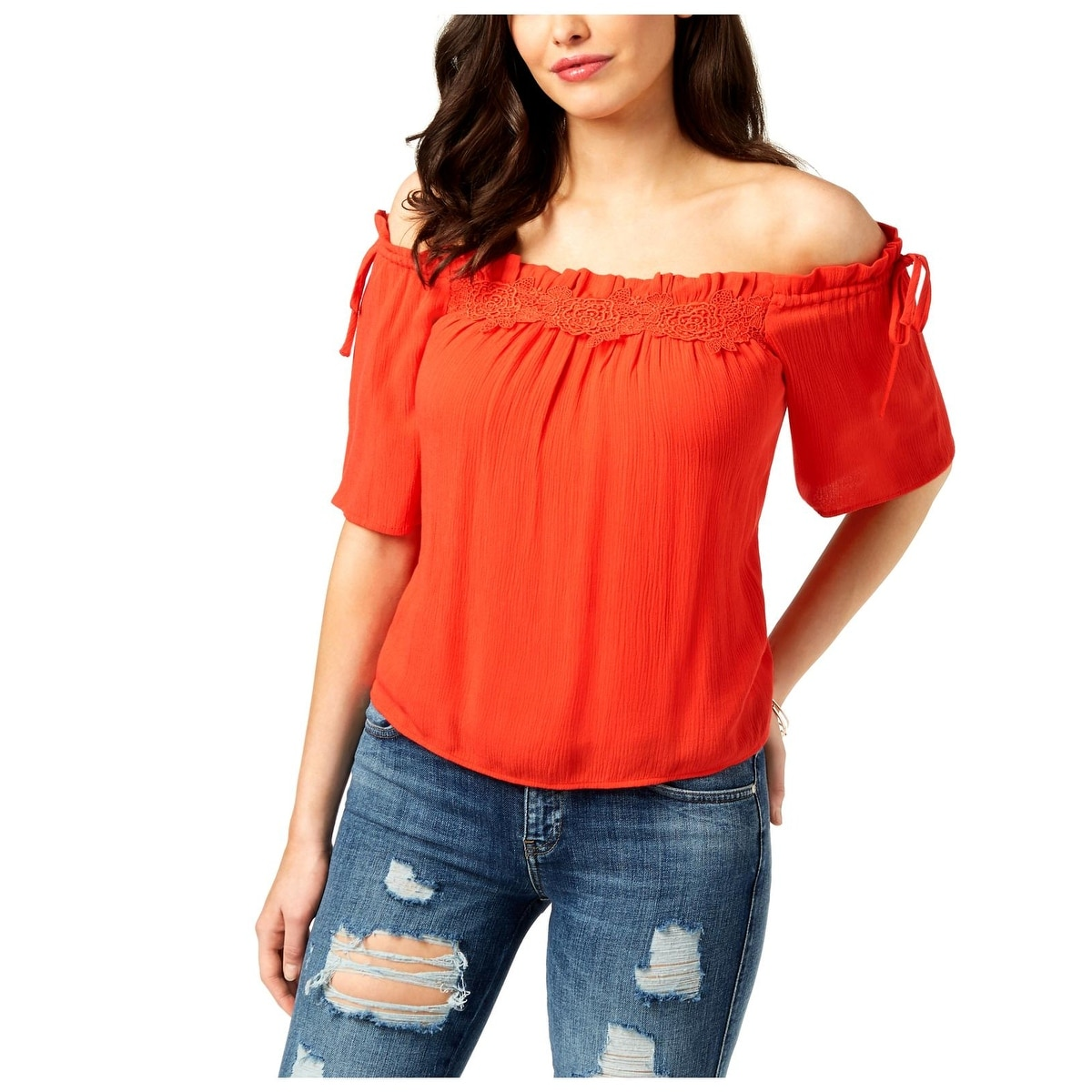 47138d4f2b9f56 Guess Tops | Find Great Women's Clothing Deals Shopping at Overstock