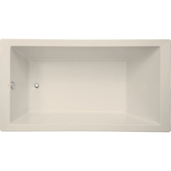 "Mirabelle MIRSKA6636 Sitka 66"" X 36"" Acrylic Air Bathtub for Drop In or Undermount Installations with Reversible Blower and"