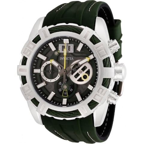 Invicta Men's 30298 'Bolt' Black Silicone Watch