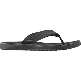 Bogs Outdoor Shoes Womens Hudson Leather Waterproof Flip Flops