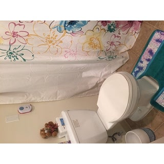Intelligent Design Cassidy Floral Shower Curtain