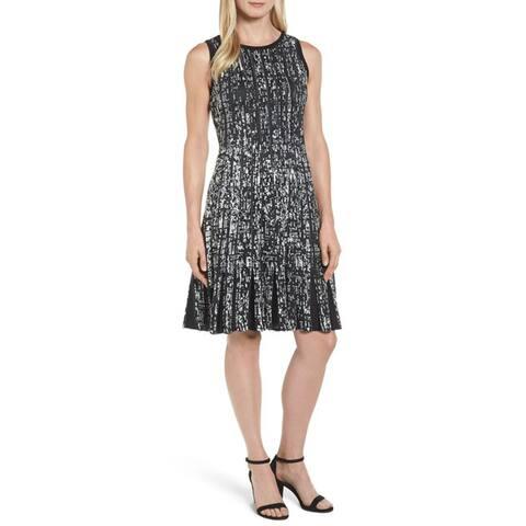 Nic+Zoe Boulevard Twirl Dress, Multi, Medium