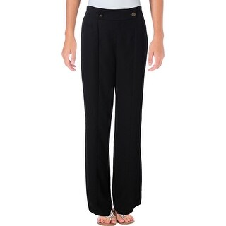 1.State Womens Dress Pants Flare Wide Leg