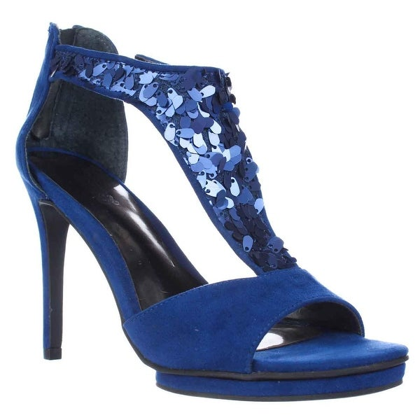 Carlos Carlos Santana Sonora Dress Heel Sandals, Ocean Blue