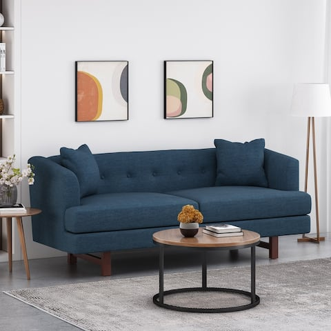Mableton Indoor Upholstered 3 Seater Sofa by Christopher Knight Home