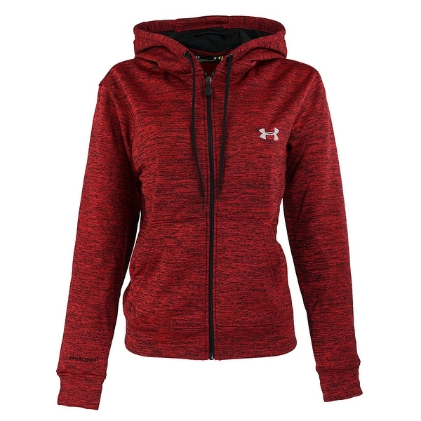 Shop Under Armour Women s UA Storm Full Zip Hoodie - Red Heather - Free  Shipping On Orders Over  45 - Overstock - 23542852 a26848a95b