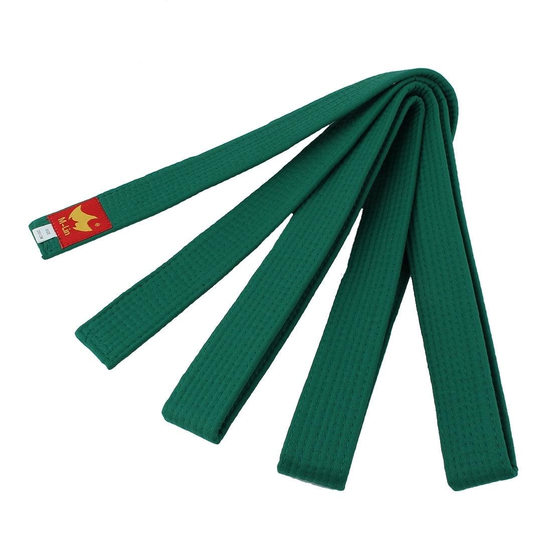 Martial Arts Rank Belts Karate Tae Kwon Do Child Adult Double Wrap Black Stripe