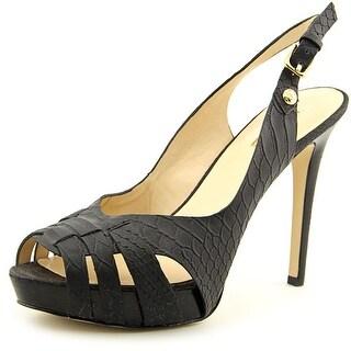 Guess Haben 2 Open-Toe Synthetic Slingback Heel