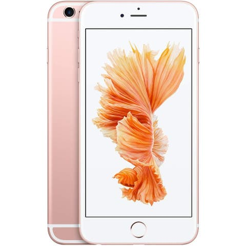 "Apple iPhone 6s 32GB 4.7"" 4G LTE VerizonUnlocked,Rose Gold (Certified Refurbished) - Rose Gold"