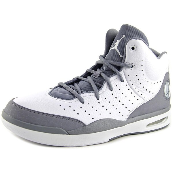 Jordan Flight Tradition Men  Round Toe Leather Gray Basketball Shoe