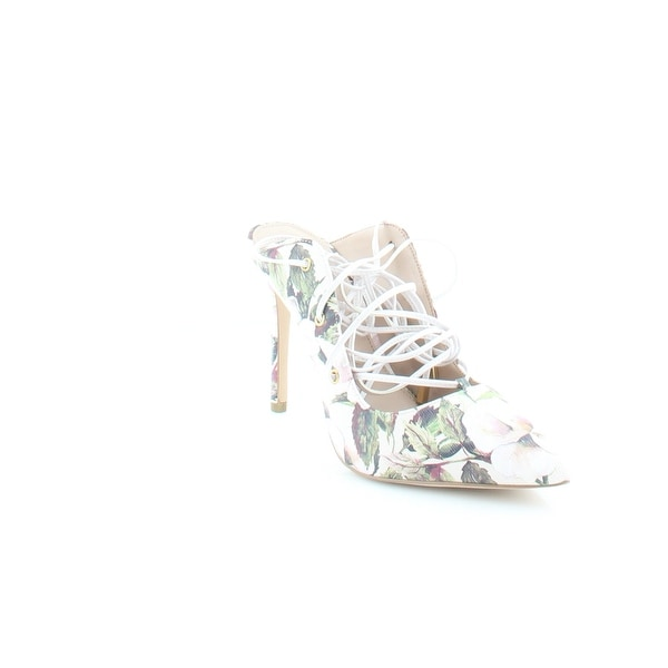 BCBGeneration Hayes Women's Heels Watercolor Floral Chalk - 9.5