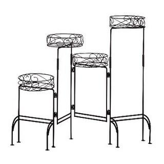 Zingz & Thingz 57070258 Folding Four-Level Plant Stand