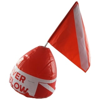 Inflatable Signal Floater with Dive Flag