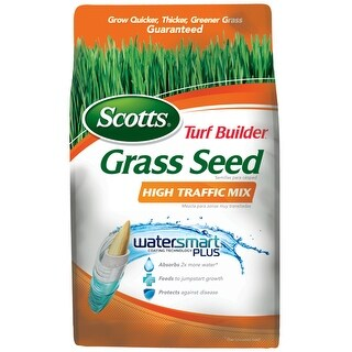 Scotts 18277 Turf Builder Grass Seed High Traffic Mix, 7 Lbs