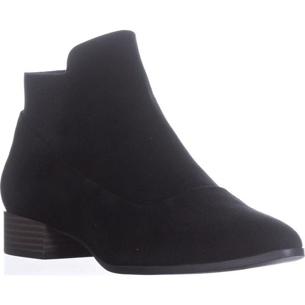 DKNY Trent Pointed-Toe Pull-On Boots, Black - 8.5 us / 39 eu