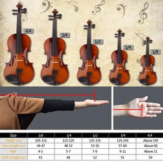 Link to 4/4 Acoustic Violin Case Bow Rosin Multi-Color Similar Items in Stringed Instruments