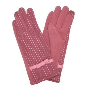 Jeanne Simmons Women's Polka Dot Texting Glove - One Size