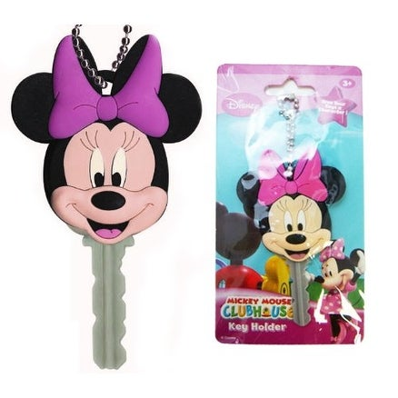 Disney Soft Touch Key Cover Minnie Mouse - Multi