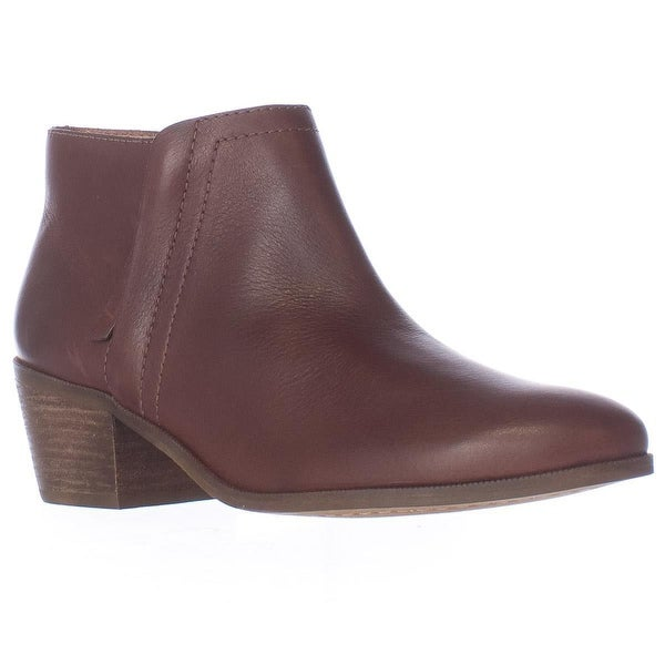 Carlos by Carlos Santana Hyde Short Ankle Booties, Mahogany