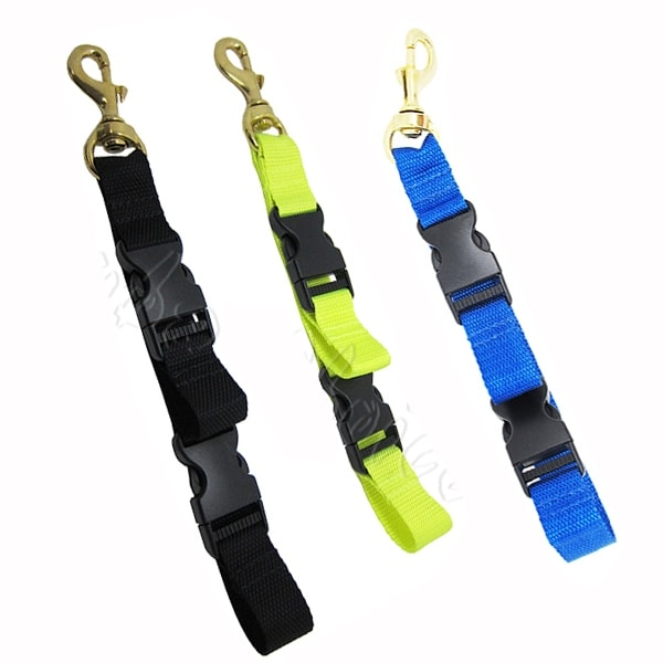 Scuba Diving BC Fin and Mask Keeper with Quick Release Loop Lanyard