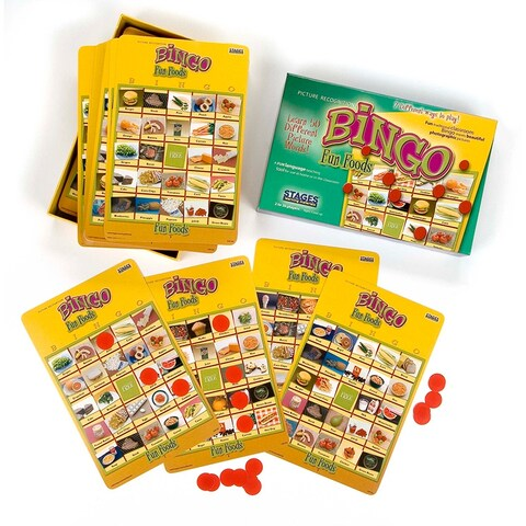 Fun Foods Bingo