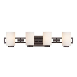 Designers Fountain 83804 4 Light Bathroom Fixture from the Del Ray Collection
