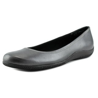 Walking Cradles Satin Women N/S Round Toe Synthetic Blue Ballet Flats