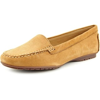 Sebago Meriden Moc Women Moc Toe Leather Tan Loafer