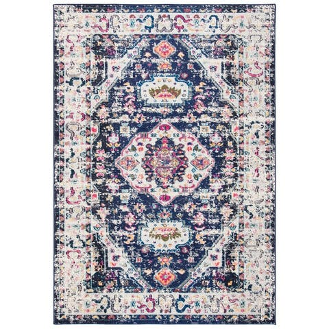 Safavieh Madison Andra Boho Oriental Distressed Rug