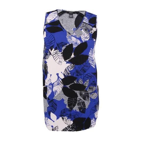 Alfani Women's Plus Size Printed High-Low Shell