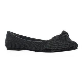 Blowfish Womens Zak Gray Ballet Flats Size 8