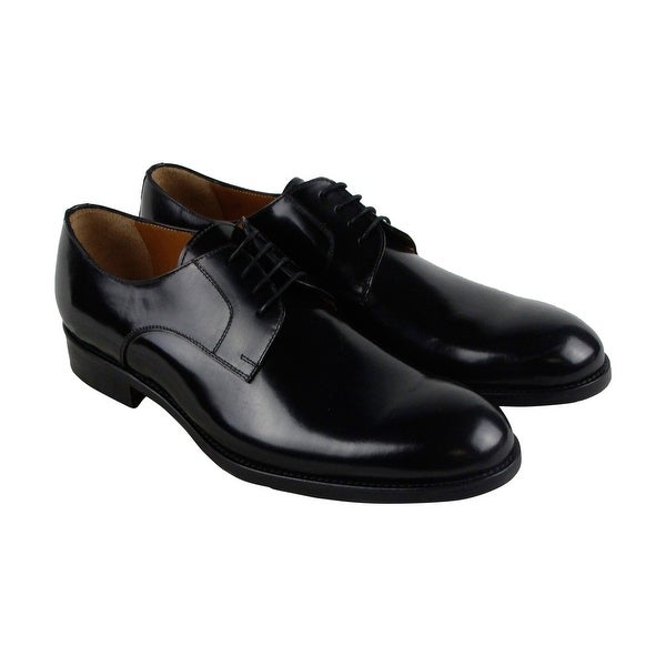Kenneth Cole New York Keep A Secret Mens Black Casual Dress Oxfords Shoes