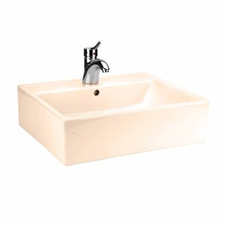 Bathroom Vessel Sink Square Bone China Renovator's Supply