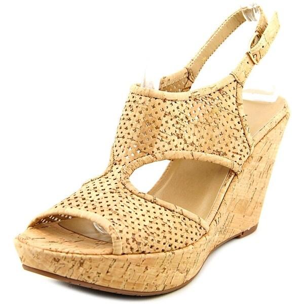 Vaneli Eleni Natural cork Sandals