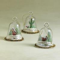 """4"""" Globe """"Christmas In The Desert"""" Christmas Ornament"""