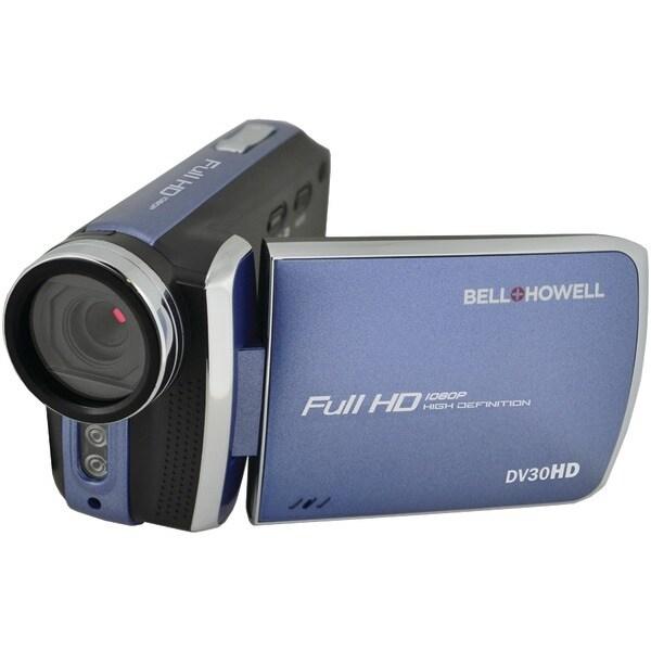 Bell+Howell Dv30Hd-Bl 20.0 Megapixel 1080P Dv30Hd Fun-Flix Slim Camcorder (Blue)