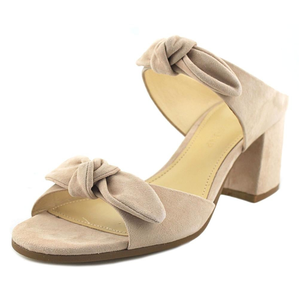 acc412d33 Shop Ivanka Trump Eria Women Open Toe Suede Pink Slides Sandal - Free  Shipping On Orders Over  45 - Overstock - 19397439