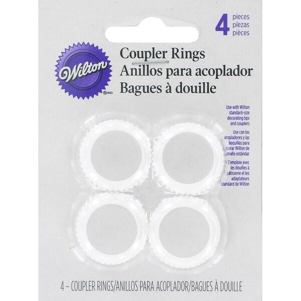 Coupler Rings 4/Pkg-