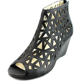 Gerry Weber Adelina 04 Women Open Toe Leather Wedge Heel