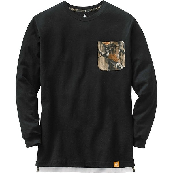 Legendary Whitetails Mens Whitetail Pocket Workwear Long Sleeve Tee