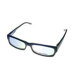Converse Mens Opthalmic Eyeglass Modified Rectange Plastic Frame Invent Brown