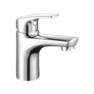 Delta 534LF-PP Modern 1.2 GPM Single Hole Bathroom Sink Faucet with 50/50 Pop-up Drain