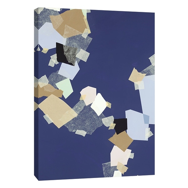 "PTM Images 9-108497 PTM Canvas Collection 10"" x 8"" - ""Patchwork 6"" Giclee Abstract Art Print on Canvas"
