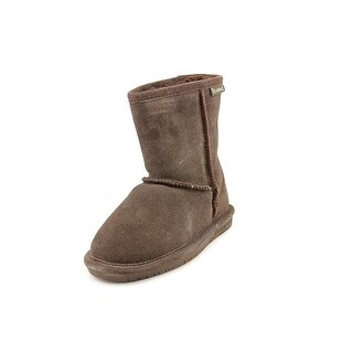 Bearpaw Emma Toddler Youth Round Toe Suede Brown Snow Boot