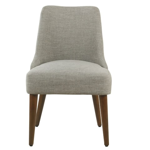 HomePop Hemet Gayle Grey Upholstered Side Chair