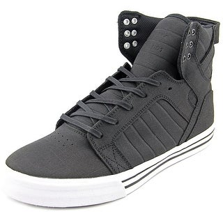 Supra Skytop Round Toe Leather Sneakers